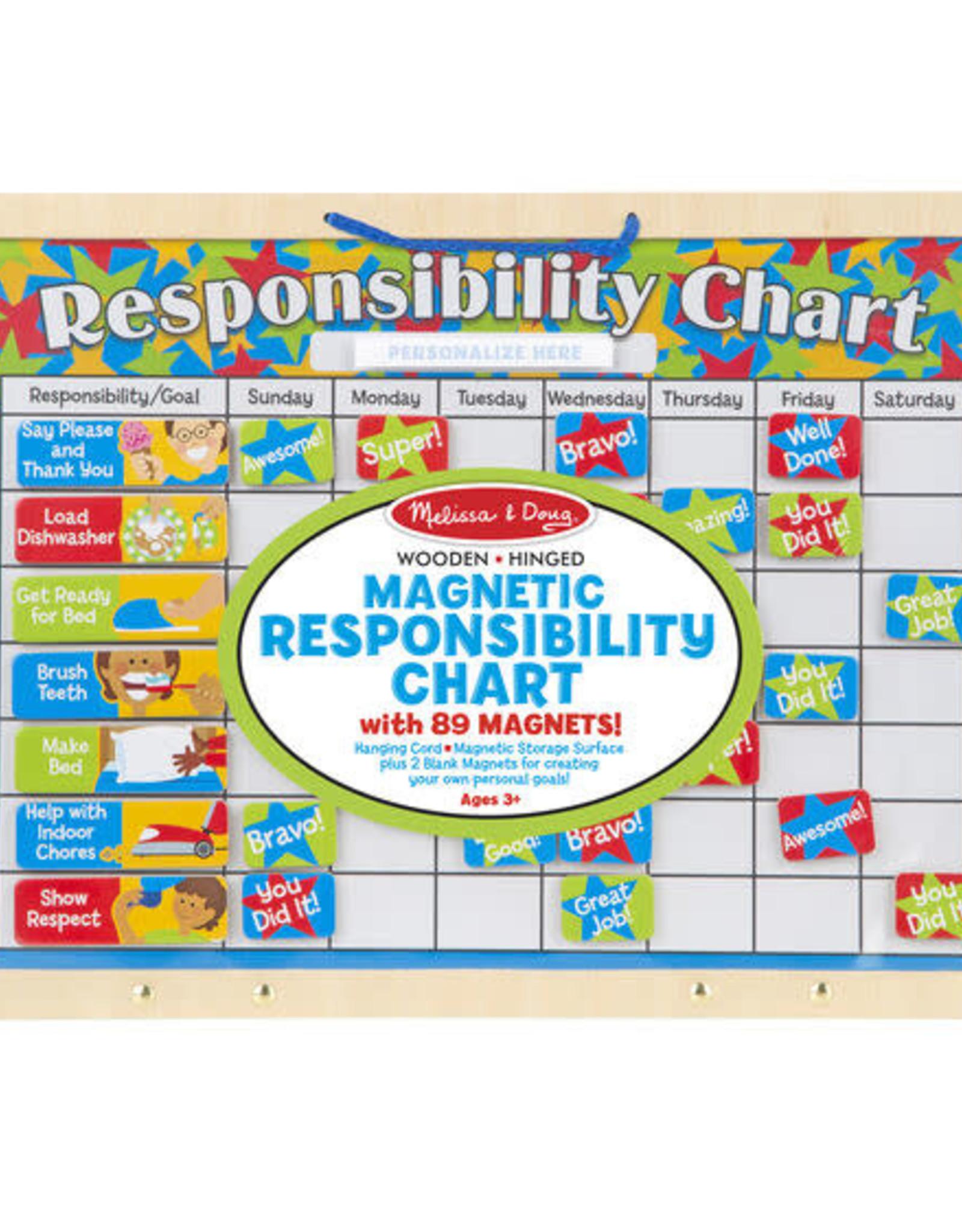 Melissa & Doug Melissa & Doug Magnetic Responsibility Chart