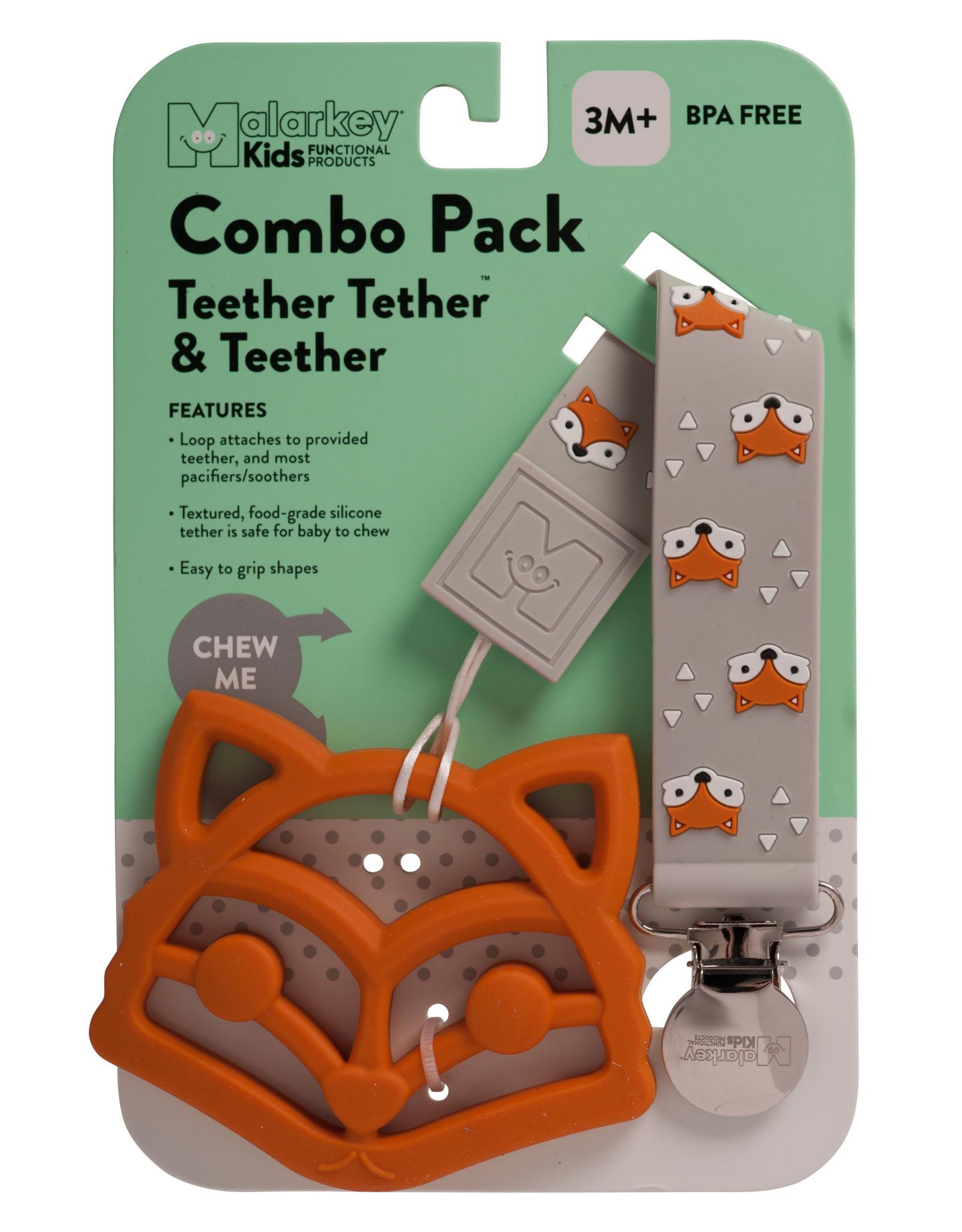 Malarkey Kids Malarkey Kids Teether & Tether - Fox