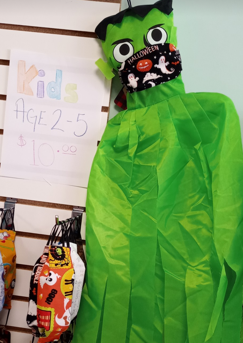 Halloween non-medical face mask kids Burlington