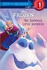 Penguin Random House Step Into Reading 1: Frozen Big Snowman, Little Snowman
