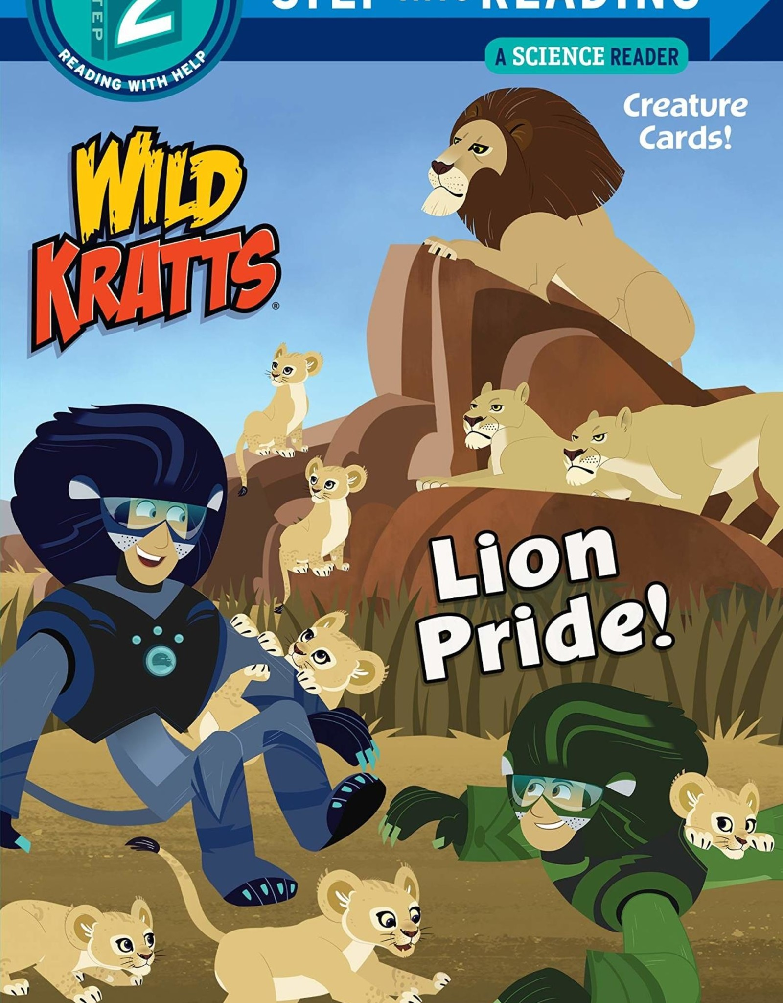 Penguin Random House Step Into Reading 2: Wild Kratts Lion Pride!