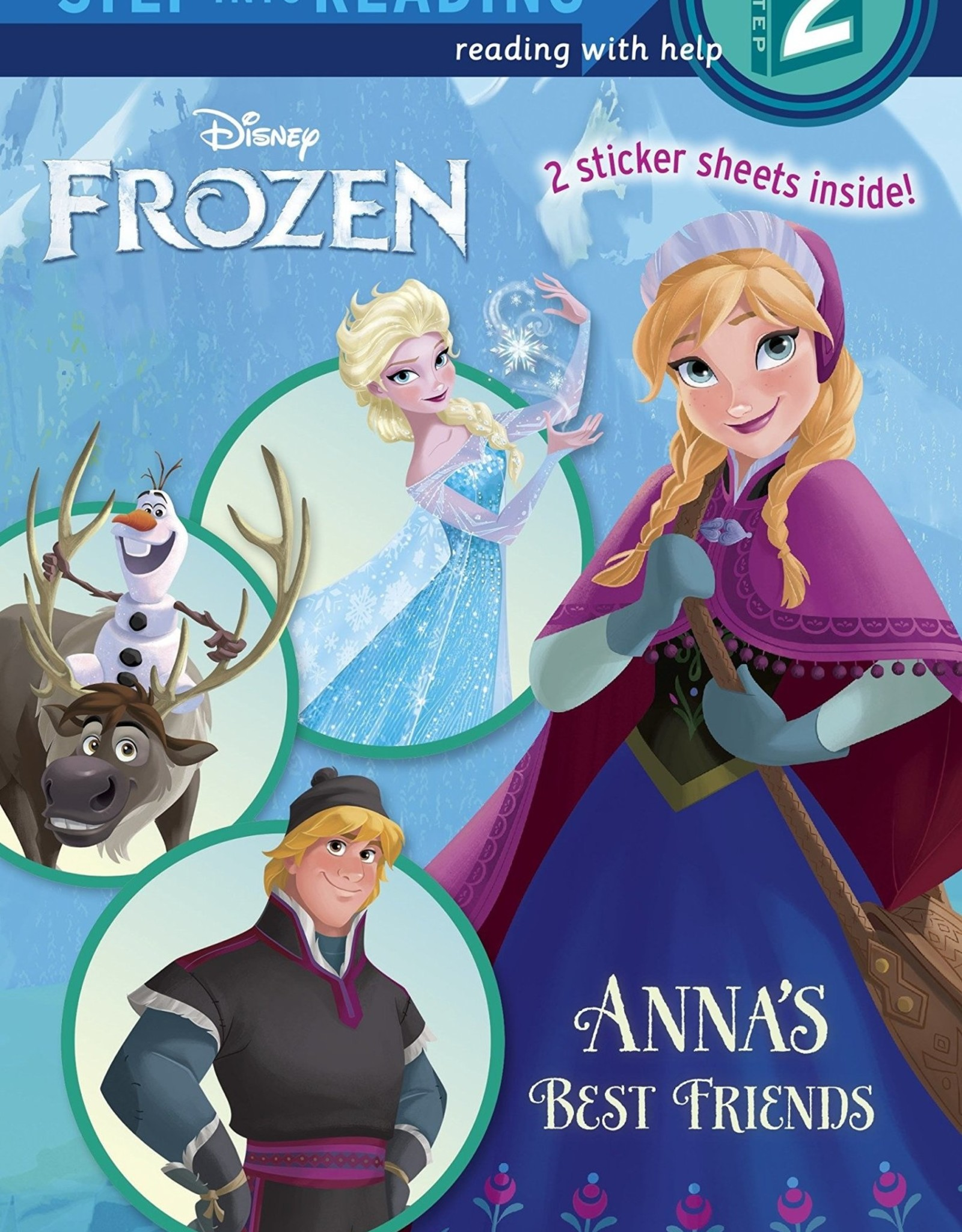 Penguin Random House Step Into Reading 2: Frozen Anna's Best Friends