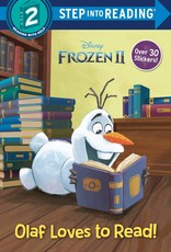 Penguin Random House Step Into Reading 2: Frozen II Olaf Loves to Read!