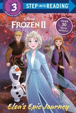 Penguin Random House Step Into Reading 3: Frozen II Elsa's Epic Journey