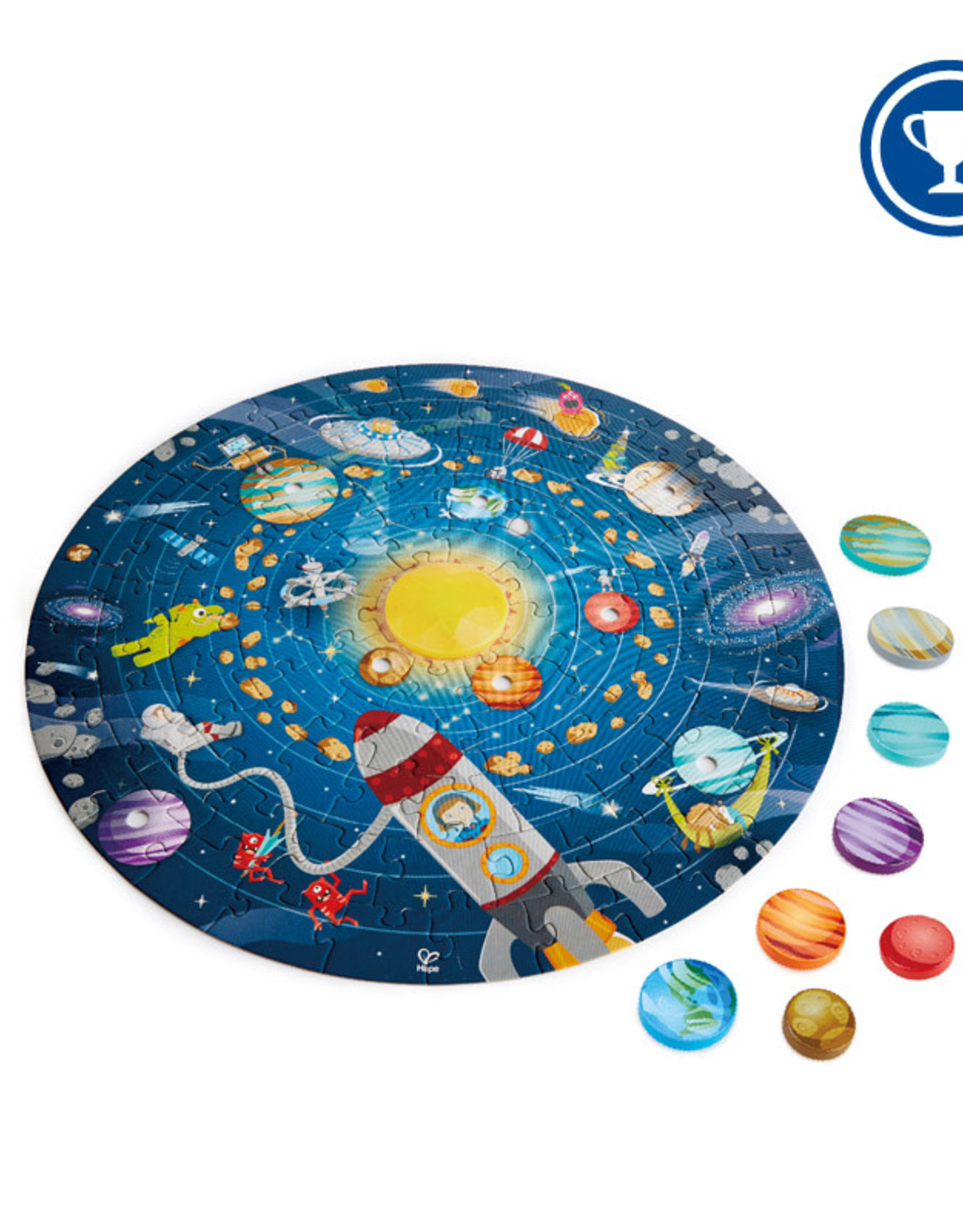 Hape Toys Hape Solar System Puzzle - 102 Pc