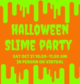 Halloween Slime Party - VIRTUAL