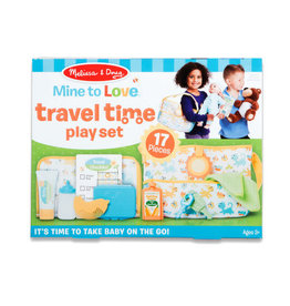 Melissa & Doug Melissa & Doug Mine to Love Travel Time Play Set