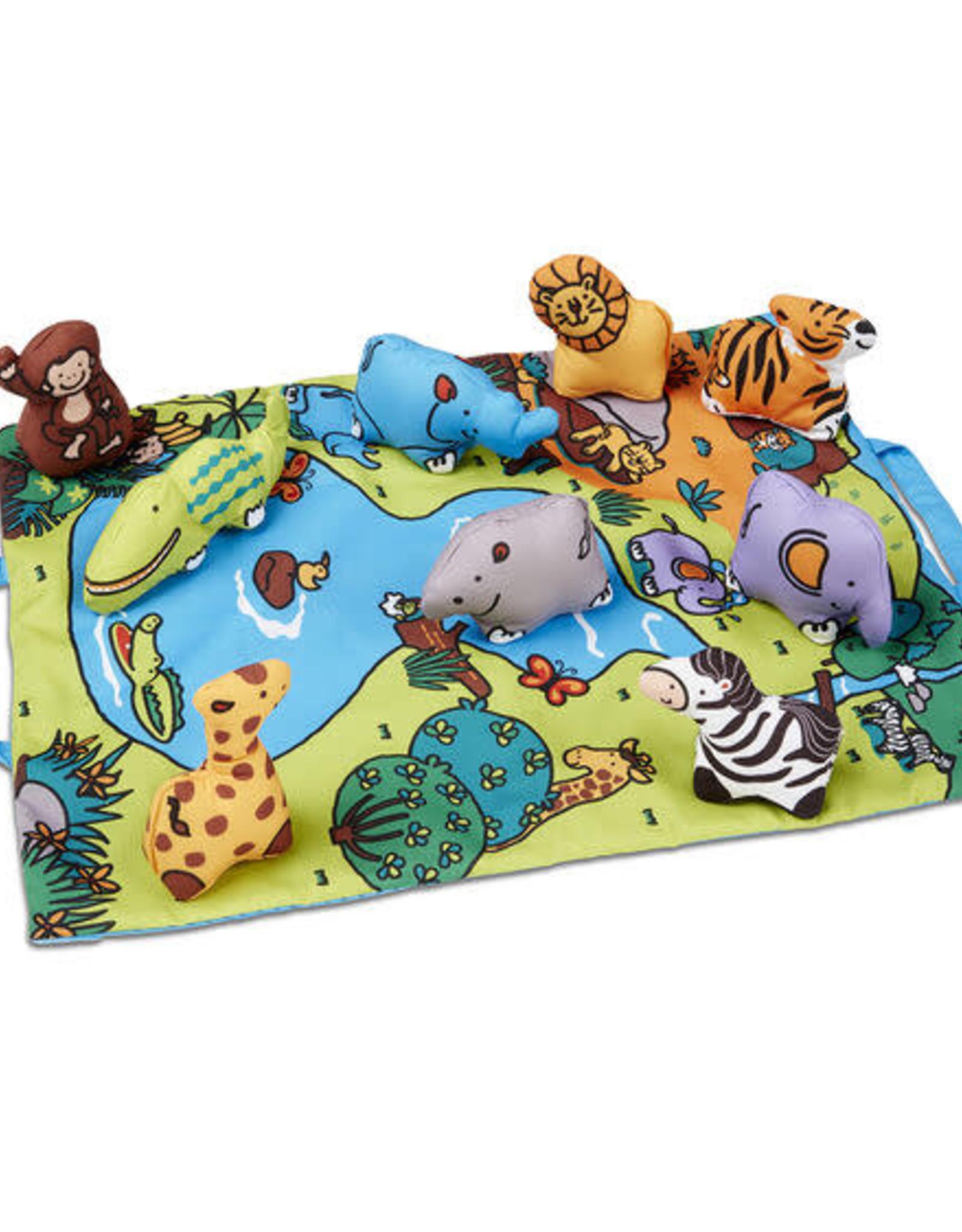 Melissa & Doug Melissa & Doug Take-Along Wild Safari Play Mat