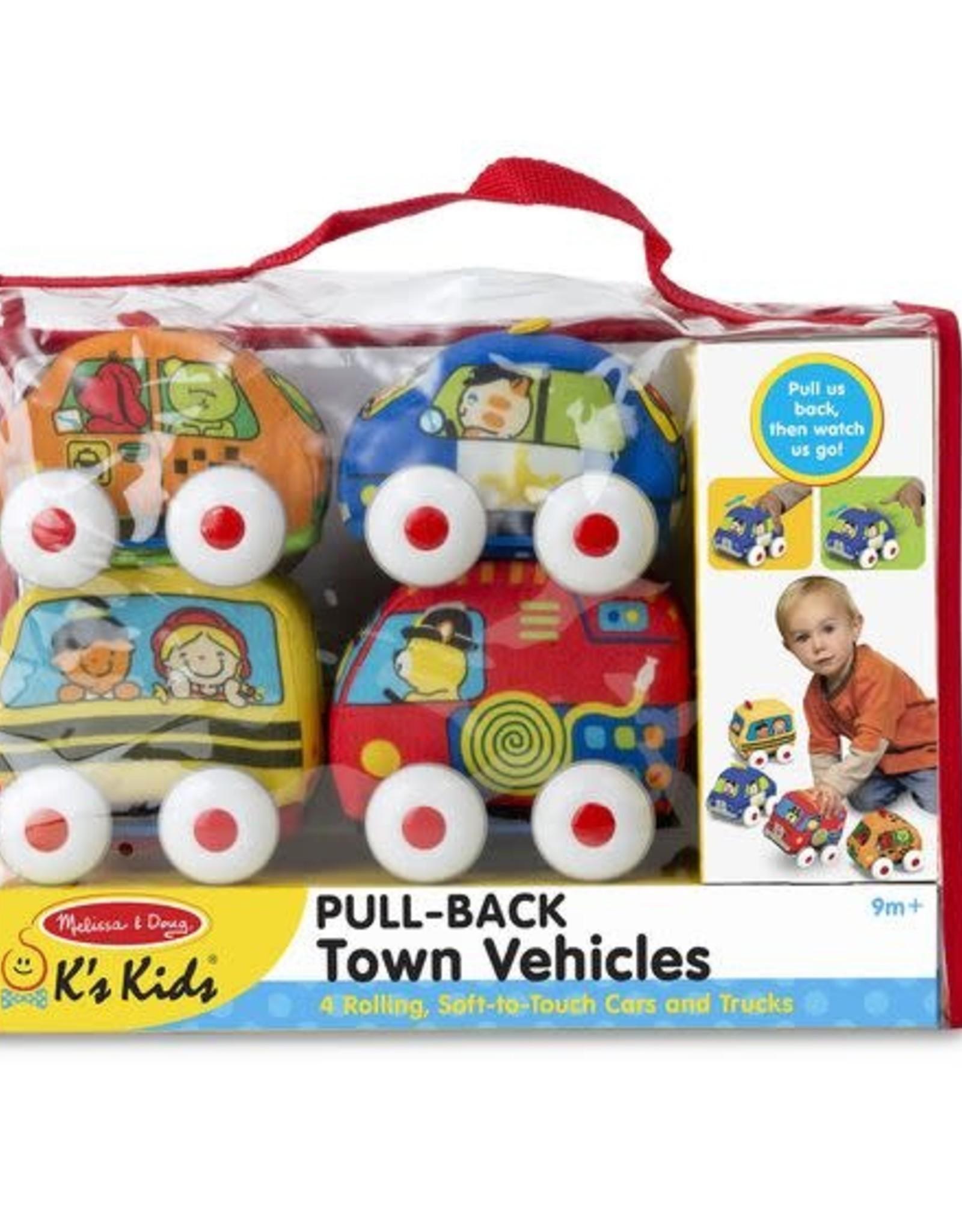 Melissa & Doug Melissa & Doug Pull-Back Town Vehicles