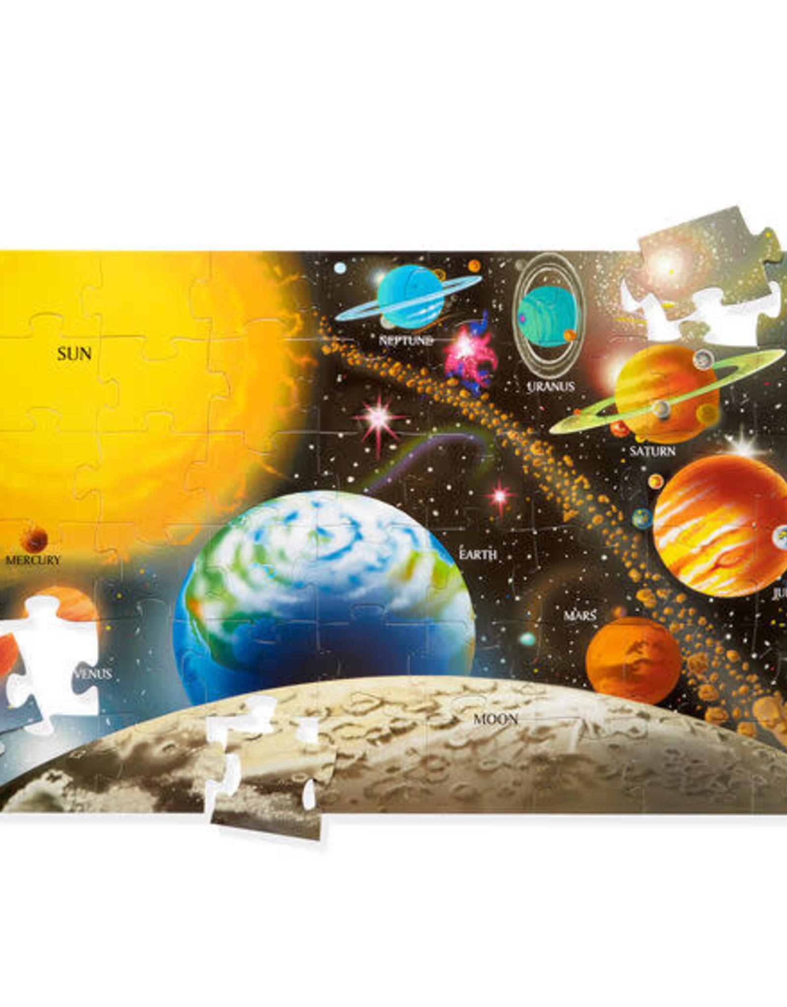 Melissa & Doug Melissa & Doug 48pc Solar System Floor Puzzle