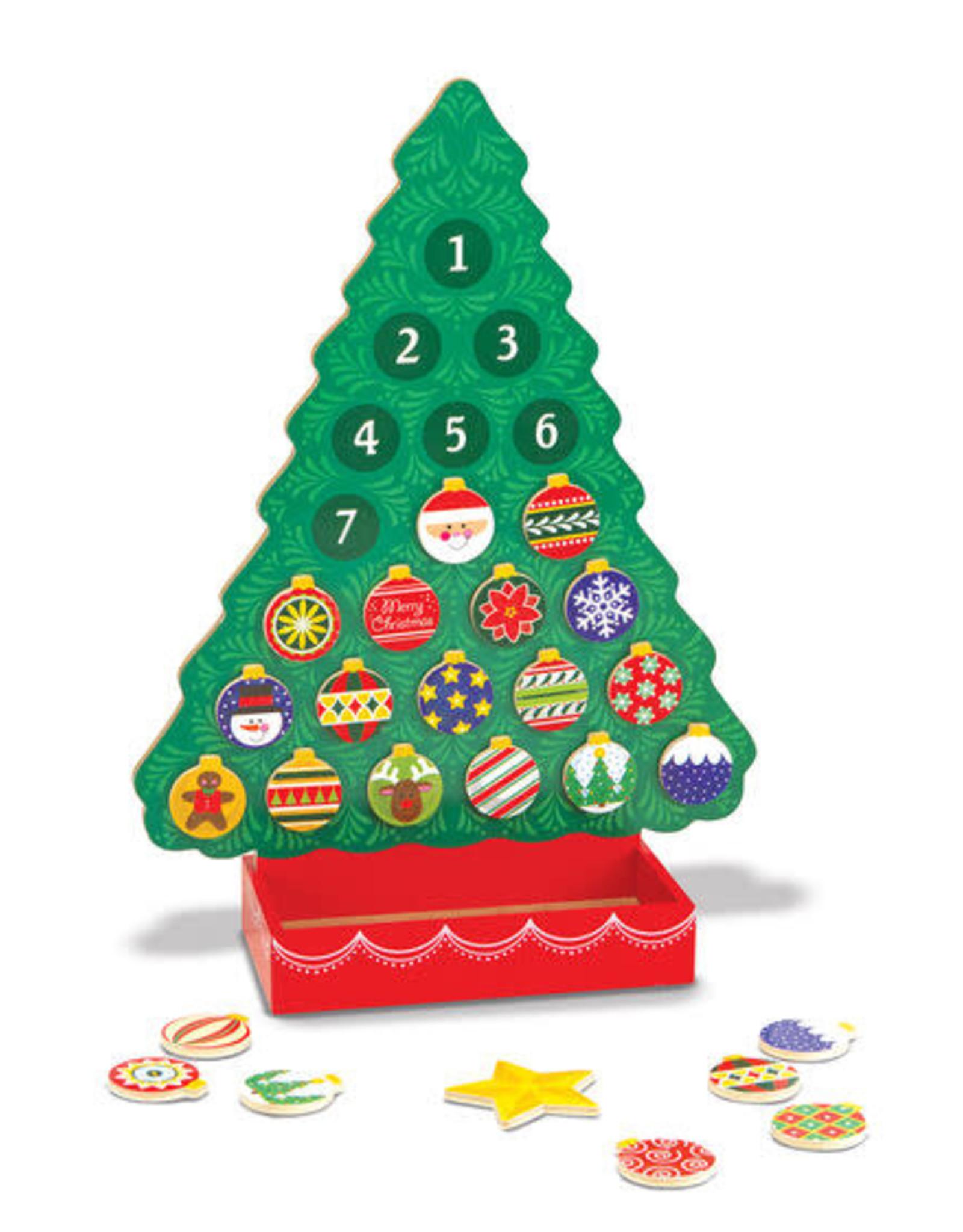Melissa & Doug Melissa & Doug Countdown to Christmas Wooden Advent Calendar