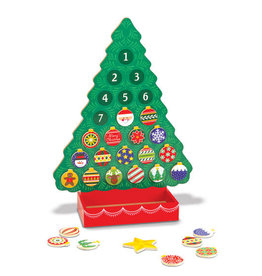 Melissa & Doug Melissa & Doug Countdown to Christmas Wooden Advent Calendar