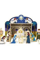 Melissa & Doug Melissa & Doug Wooden Nativity Set