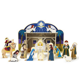 Melissa & Doug Melissa & Doug Wooden Nativity Set