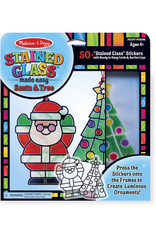 Melissa & Doug Melissa & Doug Stained Glass Made Easy - Santa and Tree