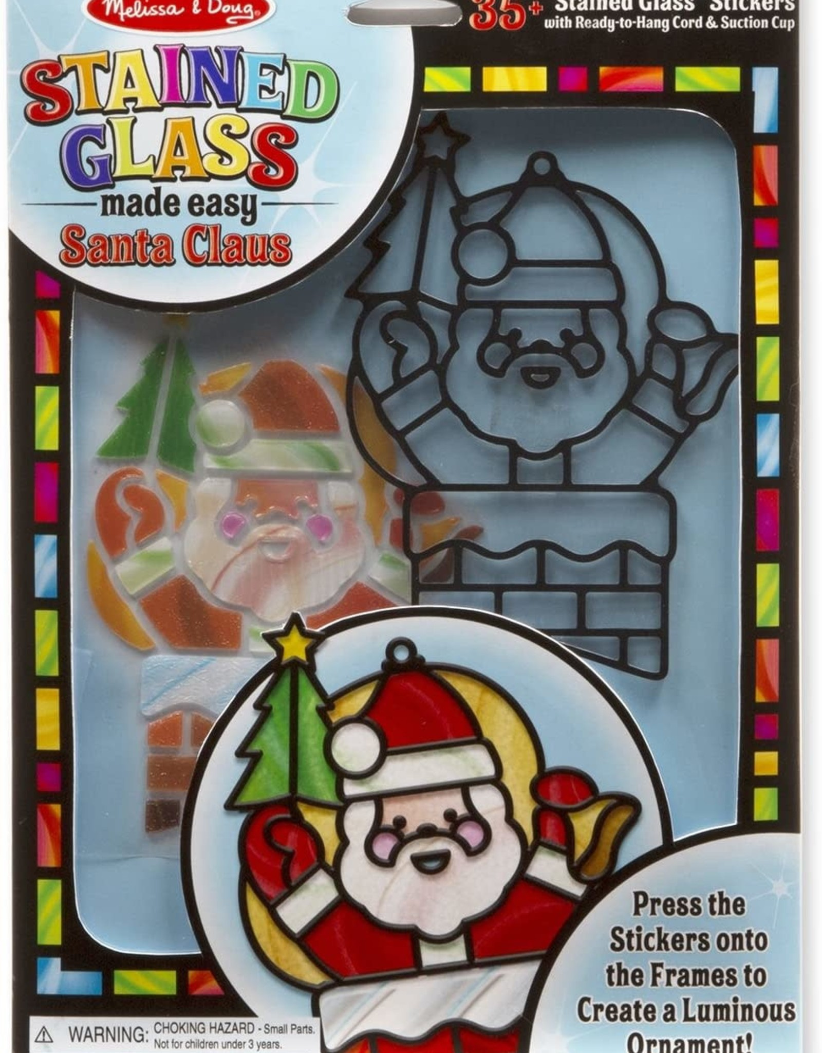 Melissa & Doug Melissa & Doug Stained Glass Made Easy - Santa Claus