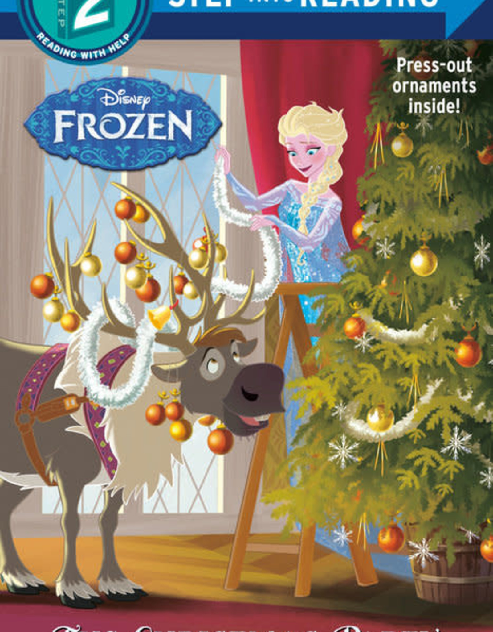 Penguin Random House Step Into Reading 2: Frozen The Christmas Party