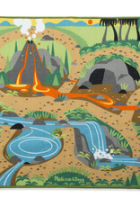 Melissa & Doug Melissa & Doug  Prehistoric Playground Dinosaur Rug