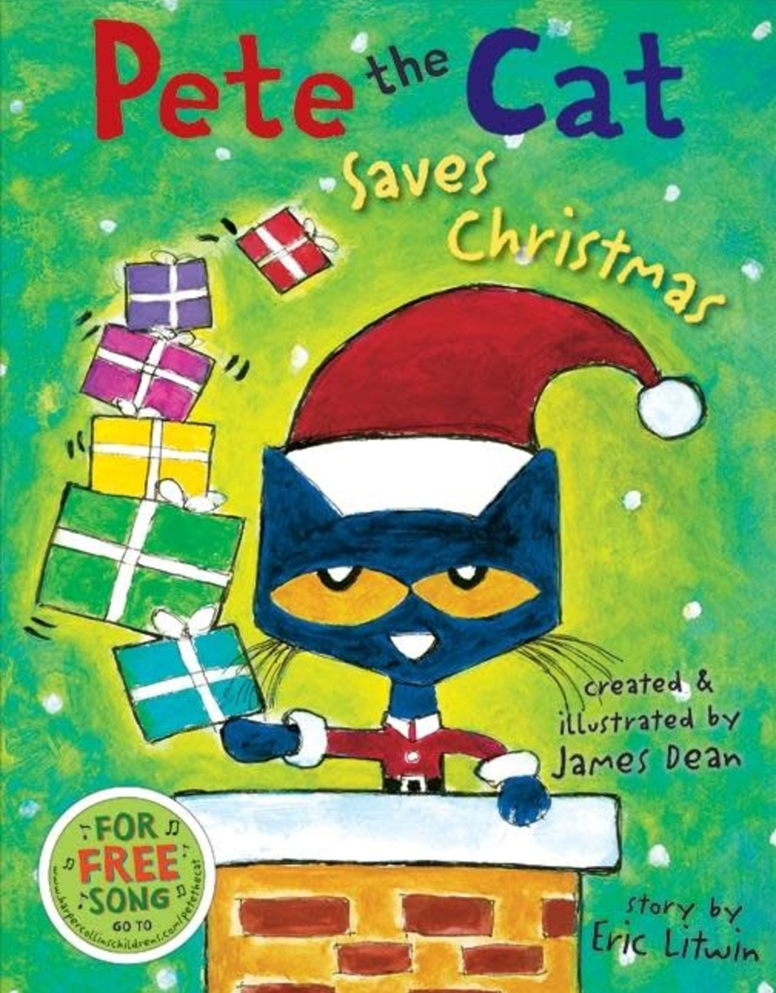 HarperCollins Pete the Cat Saves Christmas