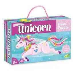 Peaceable Kingdom Unicorn Floor Puzzle