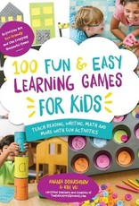 Page Street Publishing 100 Fun & Easy Learning Games For Kids