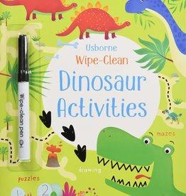Usborne Usborne Wipe-Clean Dinosaur Activities