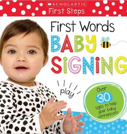 Scholastic Scholastic First Words Baby Signing
