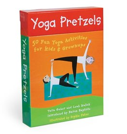 Barefoot Books Yoga Pretzels: 50 Fun Yoga Activities for Kids & Grownups