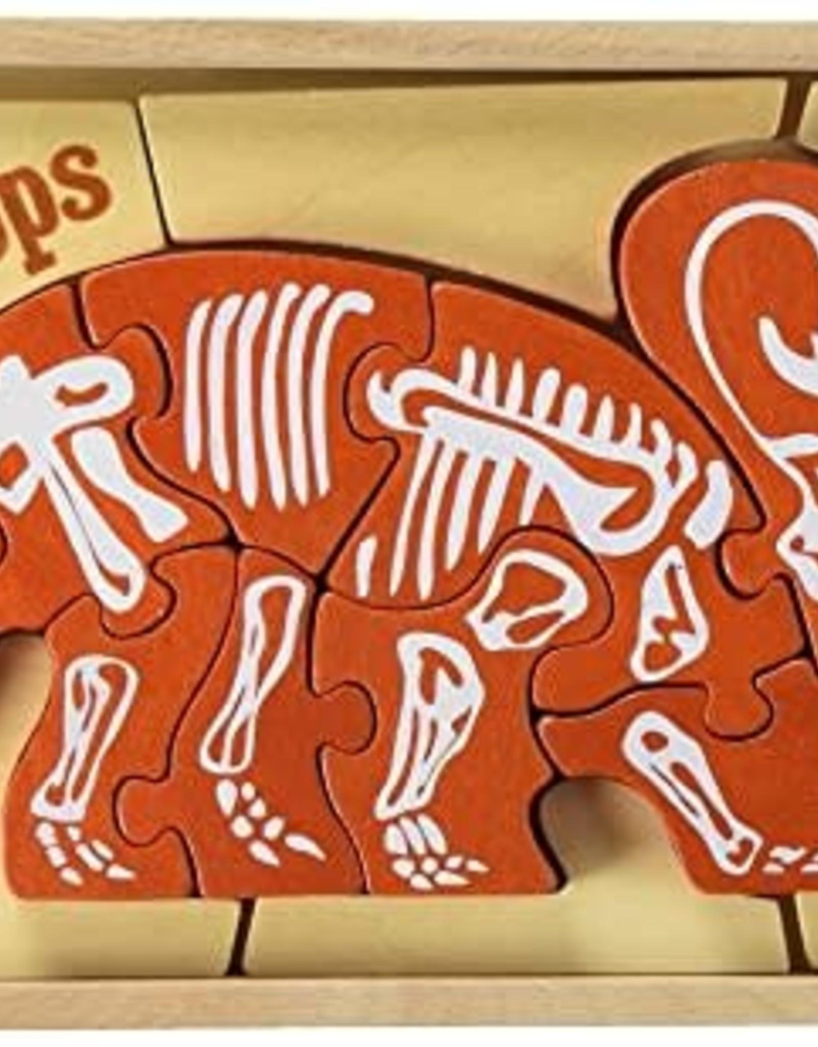 BeginAgain BeginAgain Triceratops Puzzle