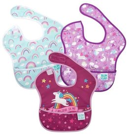 Bumkins Bumkins Super Bib 3 Pack - Unicorns