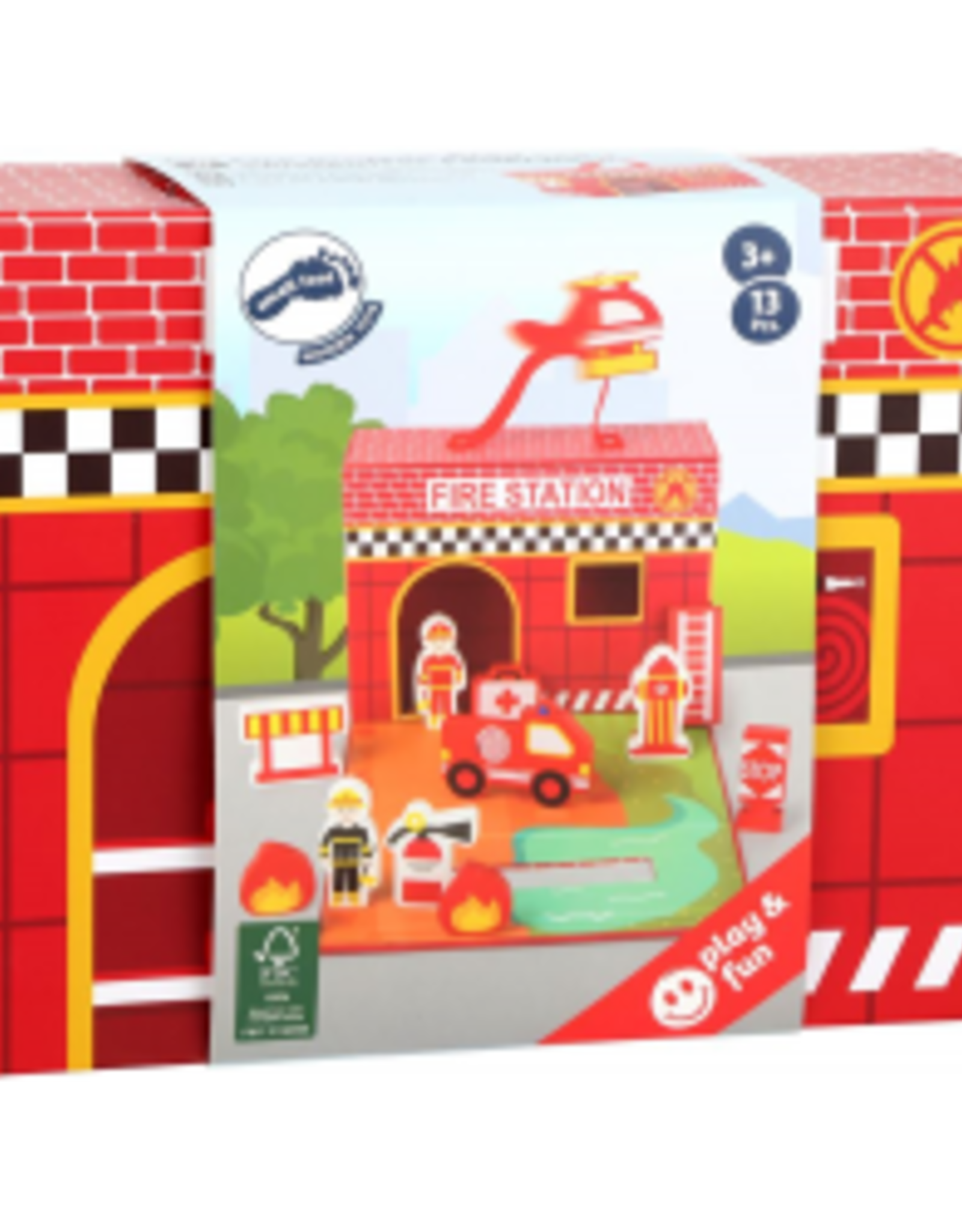Small Foot Small Foot Fire Brigade Play Set