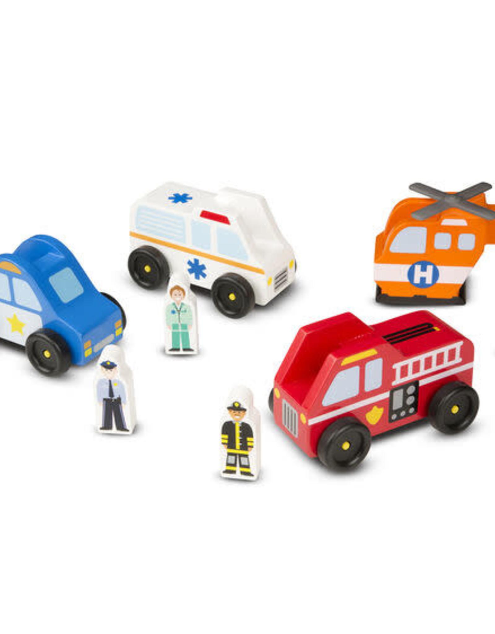 Melissa & Doug Melissa & Doug Emergency Vehicles Set