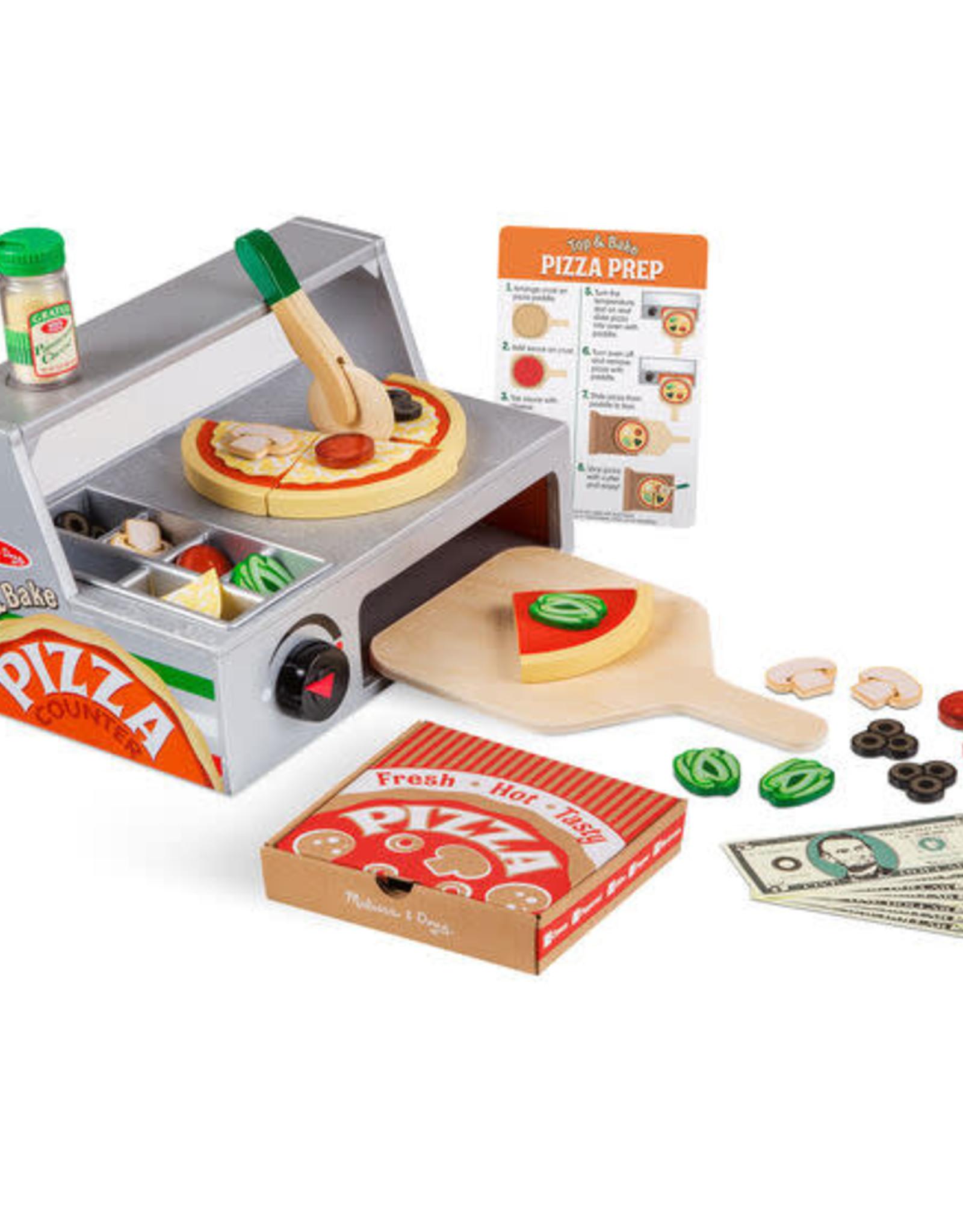 Melissa & Doug Melissa & Doug Top & Bake Pizza Counter Play Set