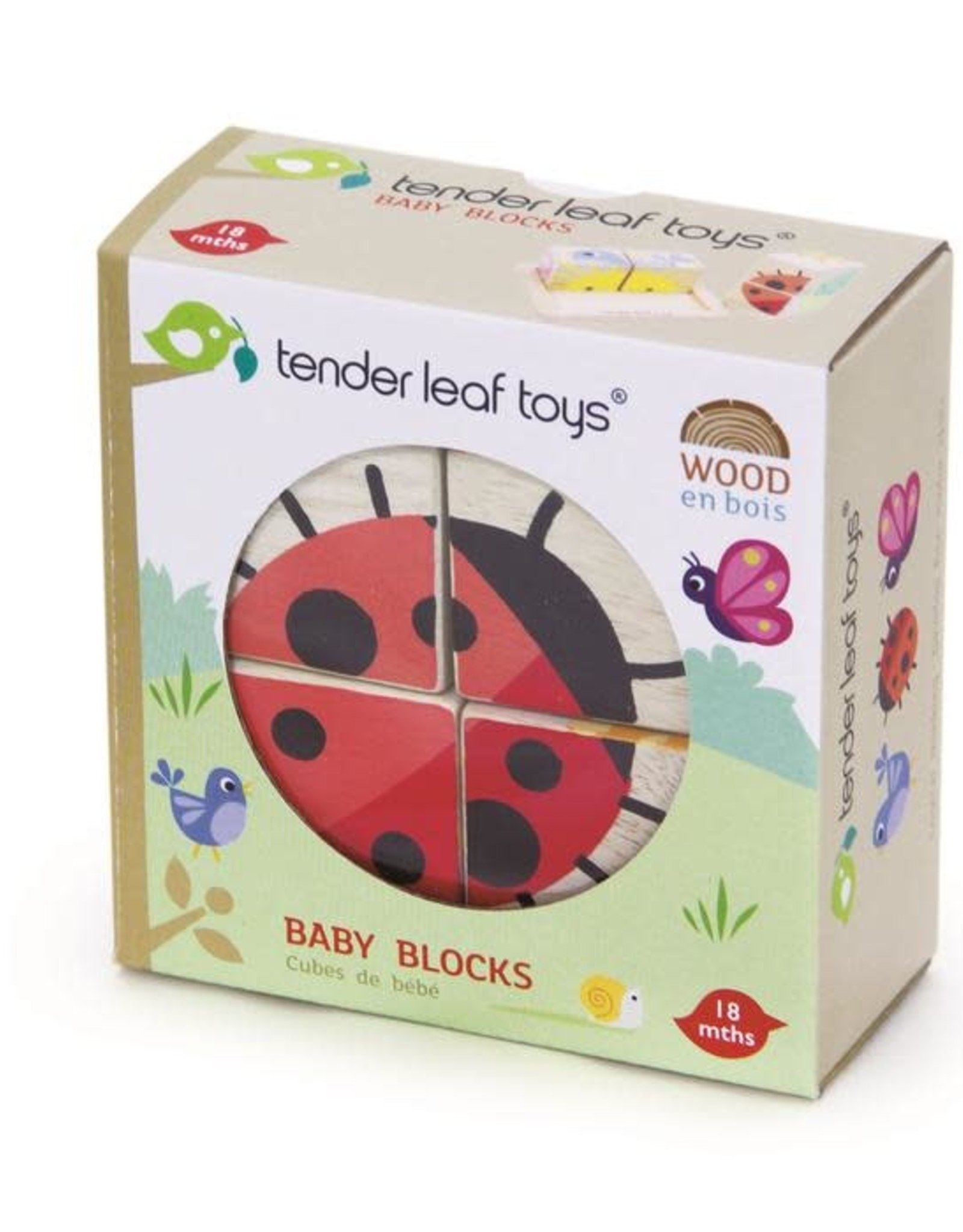 Tender Leaf Toys Baby Blocks