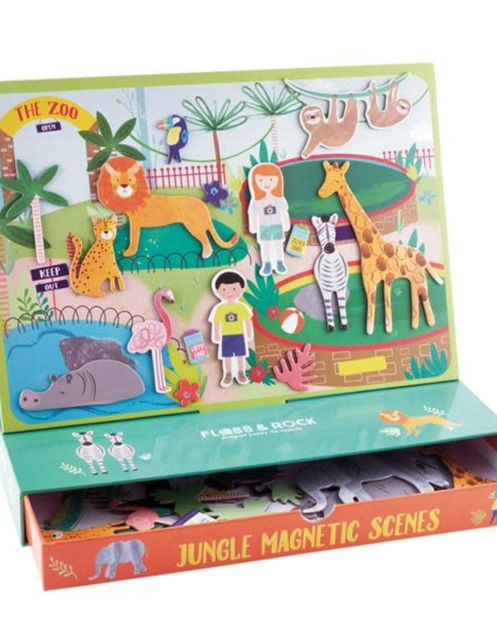 Floss & Rock Jungle Magnetic Scenes