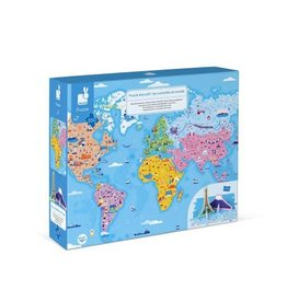 Janod Janod 3D Educational Puzzle: World Curiosities 350pcs