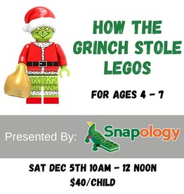How the Grinch Stole Legos with Snapology - Dec 5