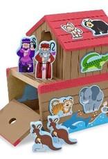 Melissa & Doug Melissa & Doug Noah's Ark Play Set Shape Sorter