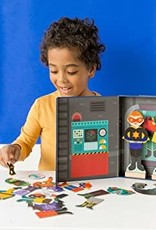 Petit Collage Magnetic Dress Up - Superheroes