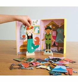 Petit Collage Magnetic Dress Up - Fairytale Friends
