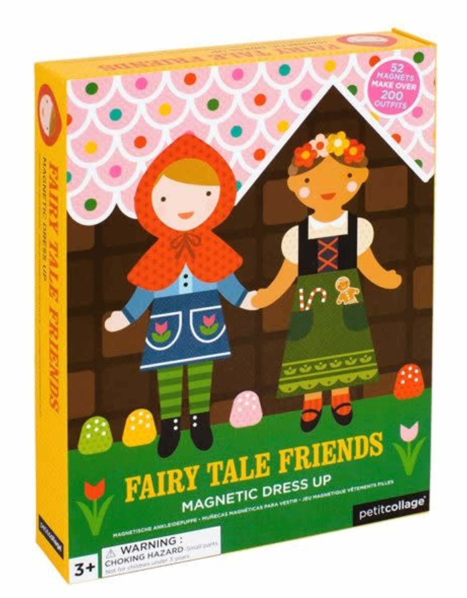 Petit Collage Magnetic Dress Up - Fairytale Friends
