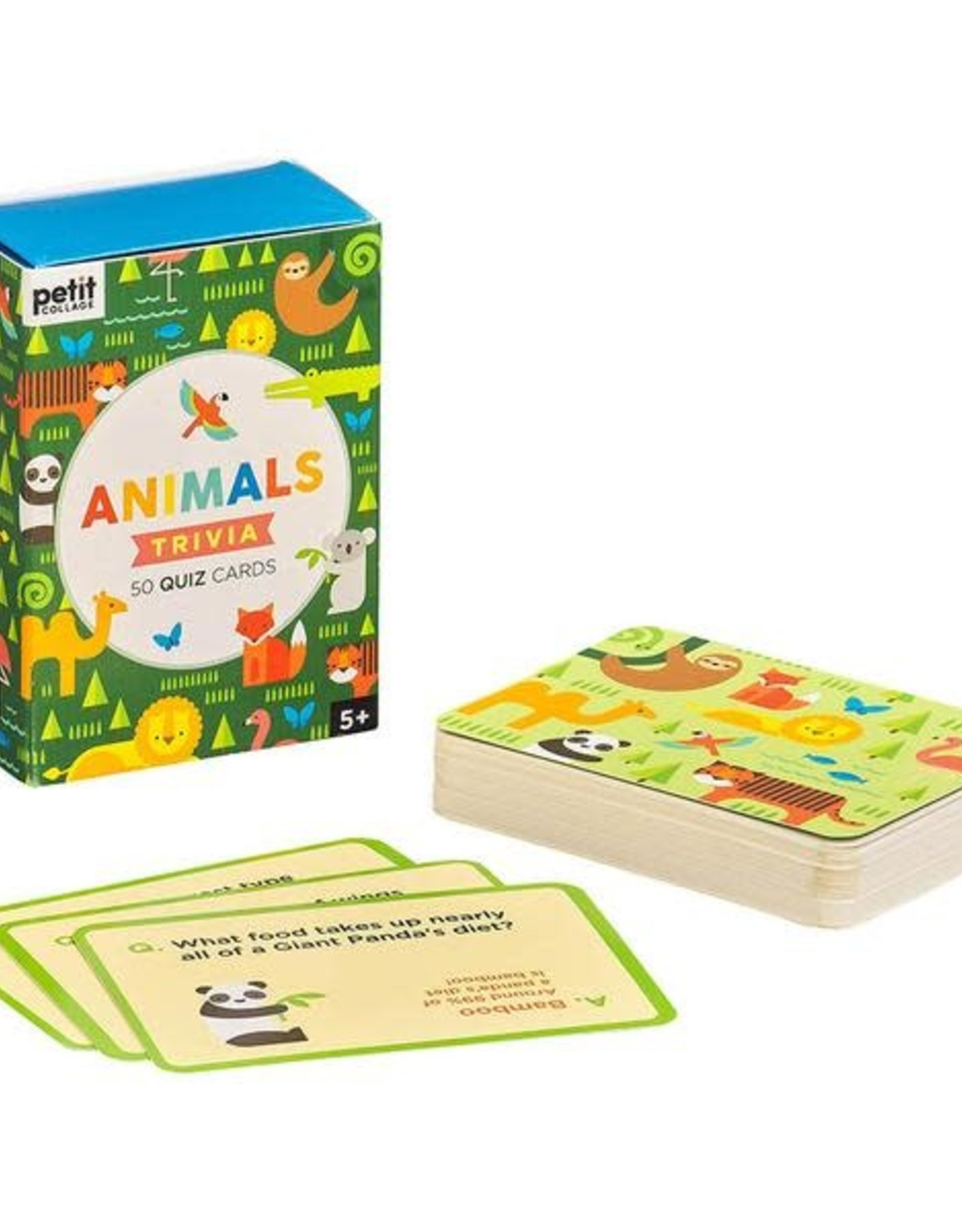 Petit Collage Animal Trivia Cards