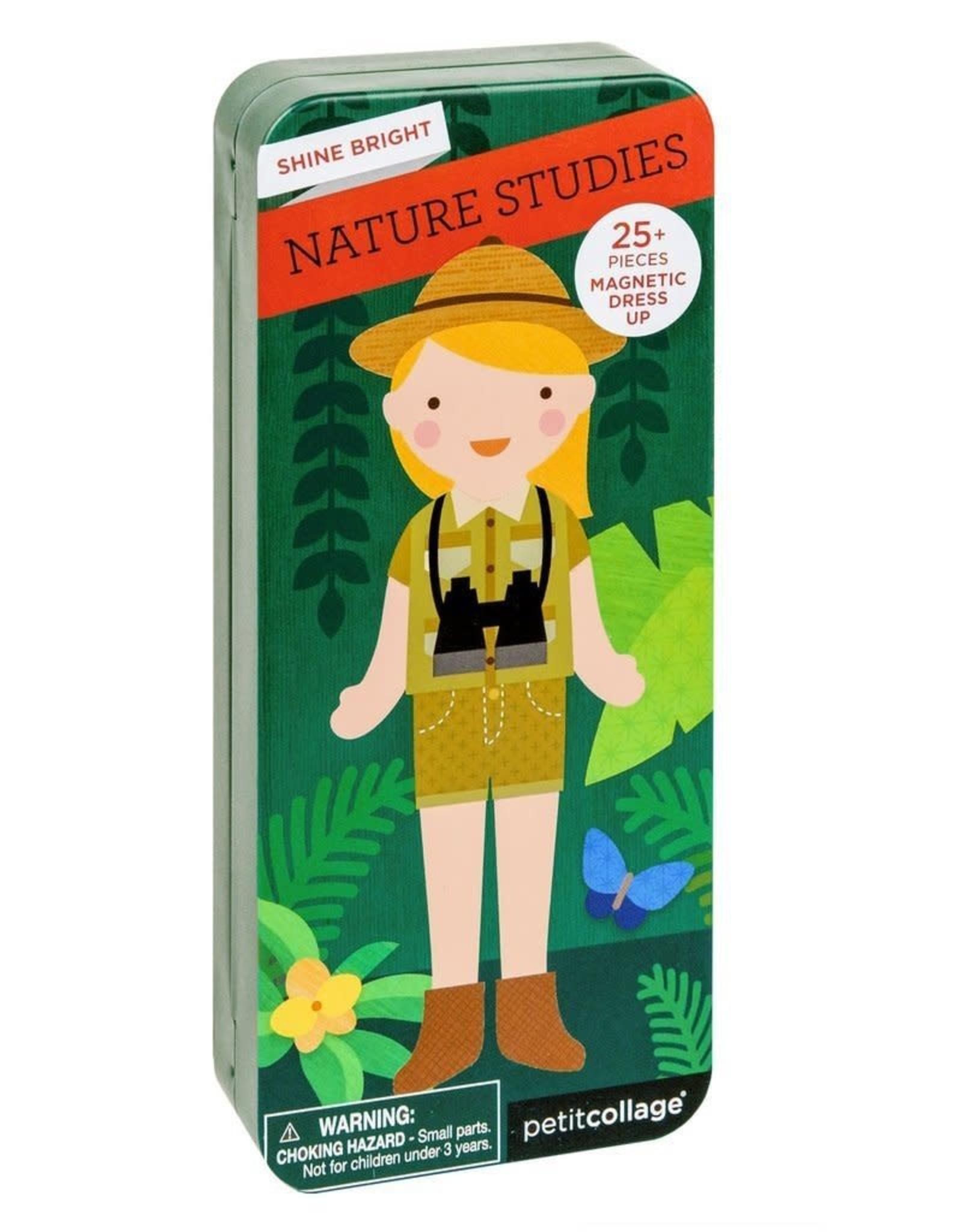 Petit Collage Magnetic Dress Up - Nature Studies