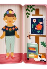 Petit Collage Magnetic Dress Up - At the Studio