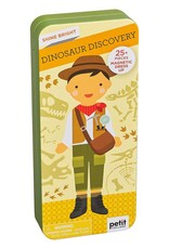 Petit Collage Magnetic Dress Up - Dino Discovery