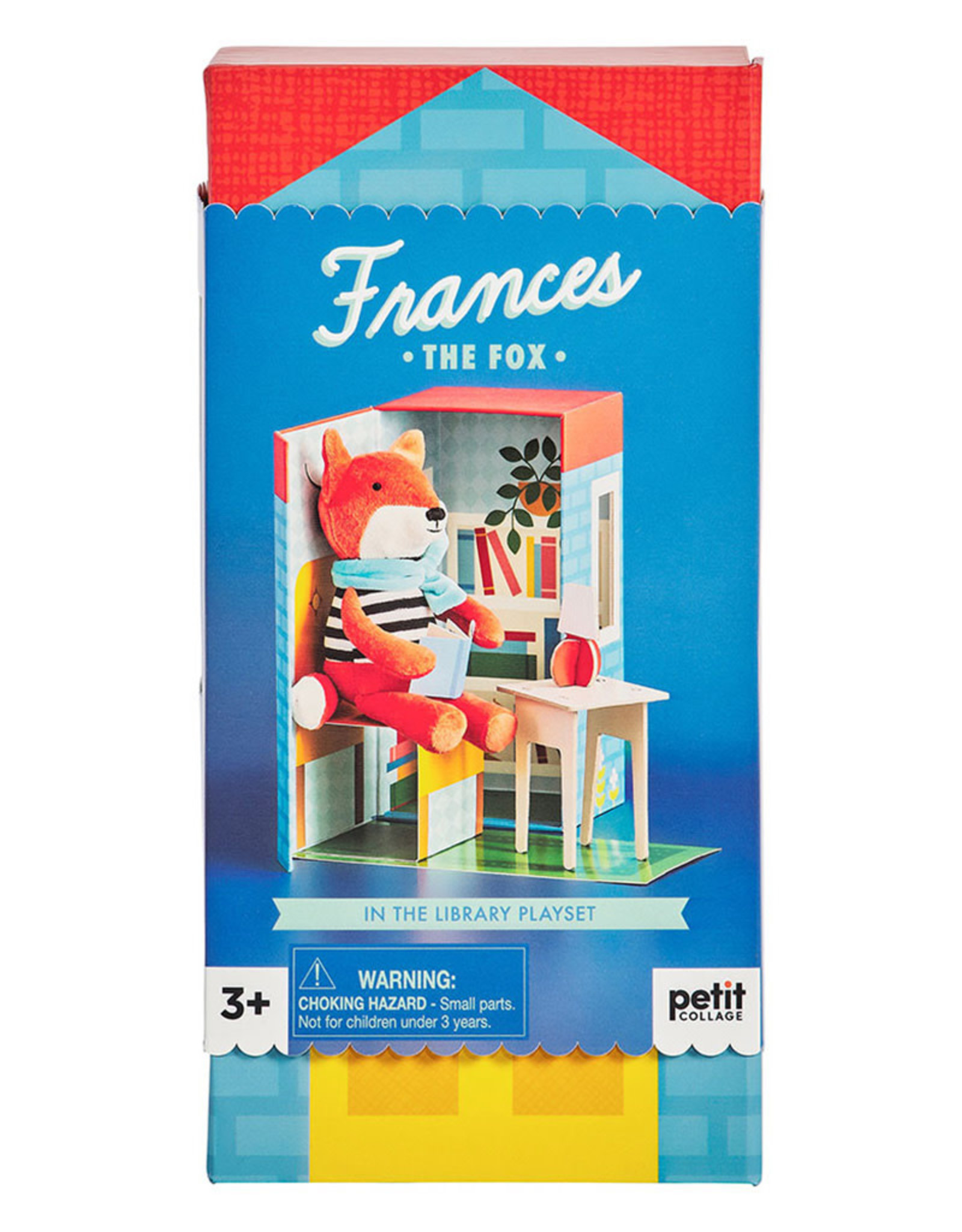 Petit Collage Frances The Fox Playset