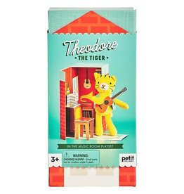 Petit Collage Theodore The Tiger Playset