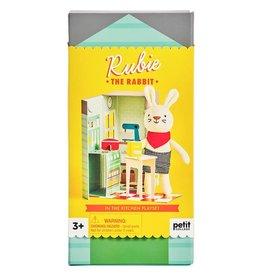 Petit Collage Rubie The Rabbit Playset