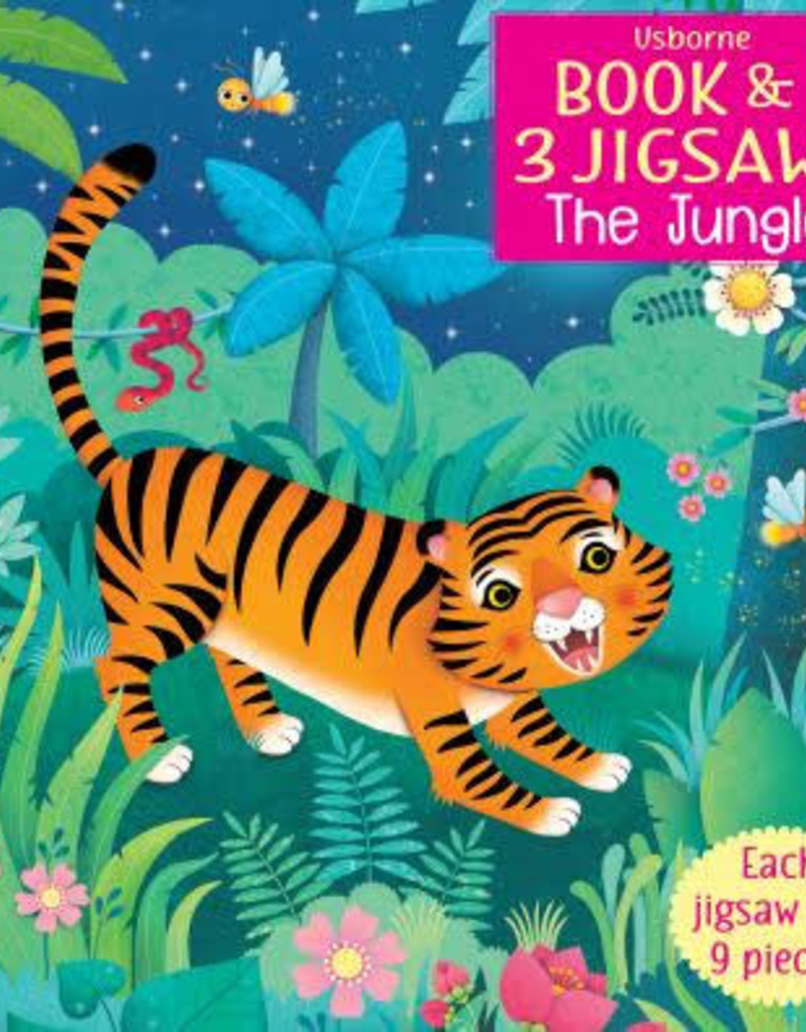 Usborne Usborne Book & 3 Jigsaws - The Jungle