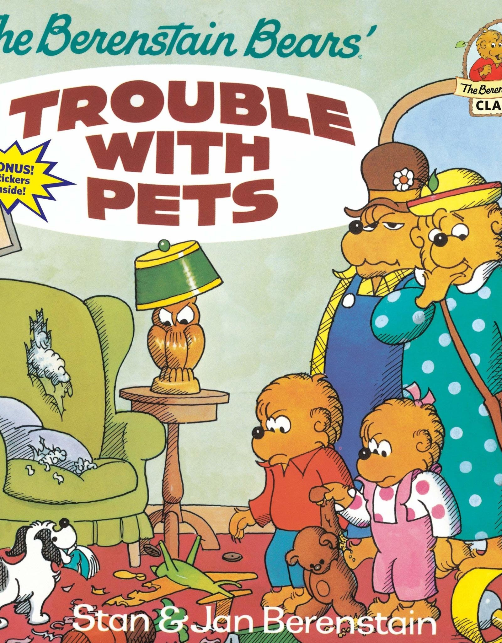 Penguin Random House The Berenstain Bears' Trouble With Pets